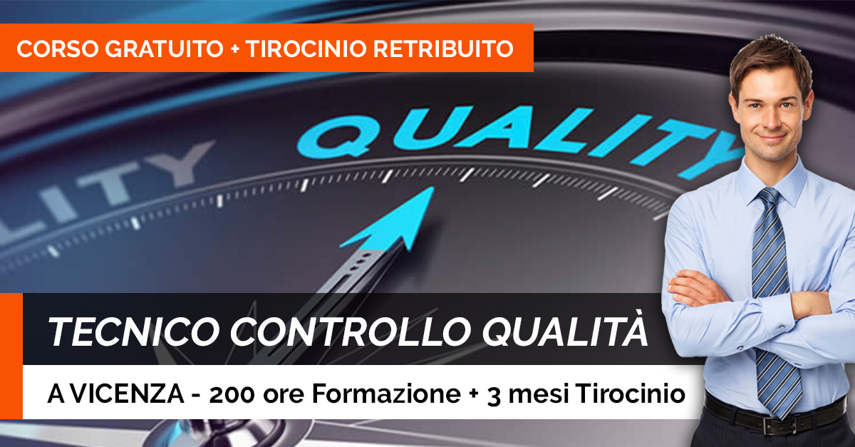 TECNICO CONTROLLO QUALITA
