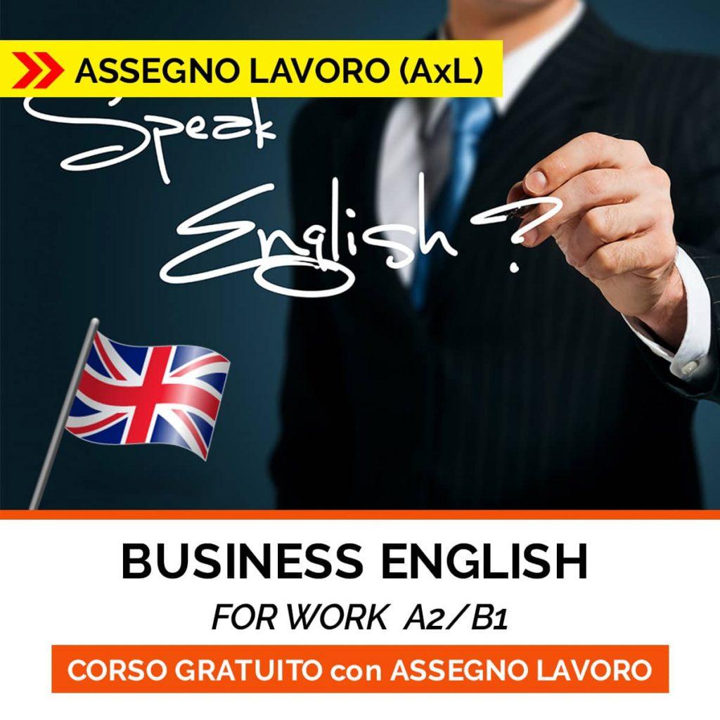 corso business english - ASSEGNO LAVORO
